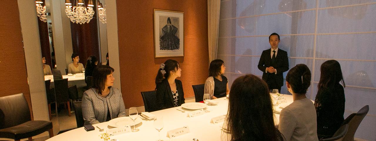 秘書が訪問!接待店レポート「日本料理 水簾」アルジェントASAMI