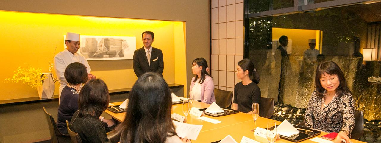 秘書が訪問!接待店レポート「日本料理 水簾」