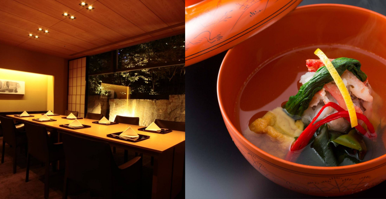 日本料理 水簾/ザ・キャピトルホテル東急